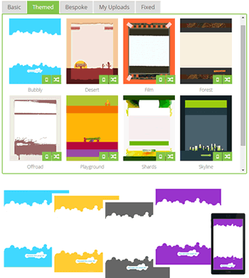 Themed templates