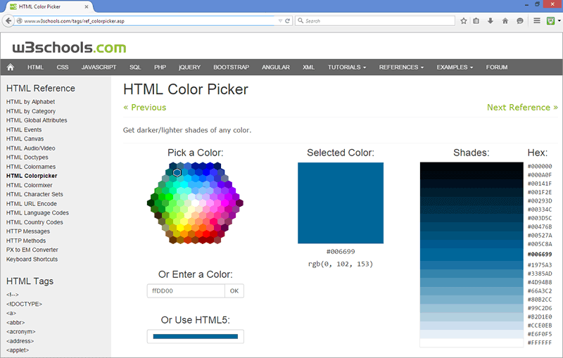 Pick shades based on your core brand colour